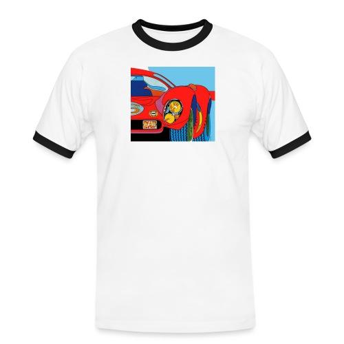 1968 Projecteurs Cibie iode crop jpg - Herre kontrast-T-shirt