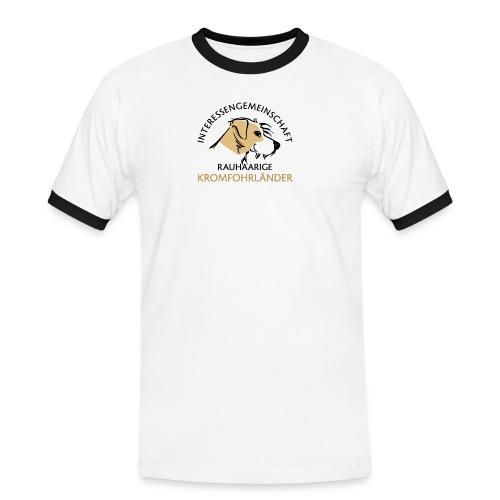 IGRK Logo Gross - Männer Kontrast-T-Shirt