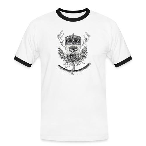 iSeeYou - Kontrast-T-shirt herr