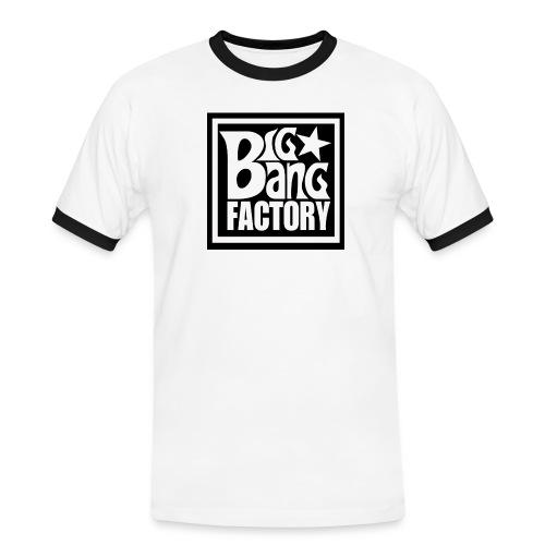 LOGOSTARBLACKBIGPNG png - T-shirt contrasté Homme