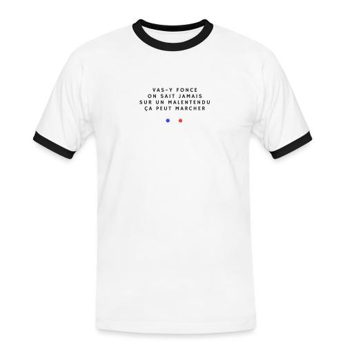 Sur un malentendu - T-shirt contrasté Homme