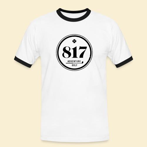 817 Adventure Golf - Männer Kontrast-T-Shirt