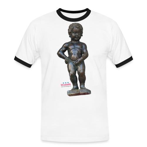 BiG REAL mannekenpis ♀♂   小便小僧 - T-shirt contrasté Homme