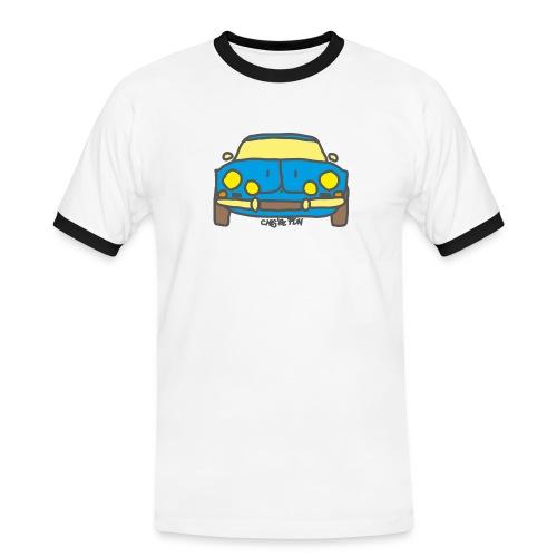 Voiture ancienne mythique française - T-shirt contrasté Homme