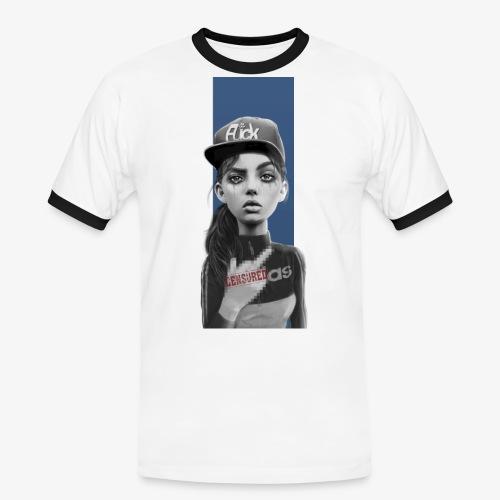 f*ck - Camiseta contraste hombre
