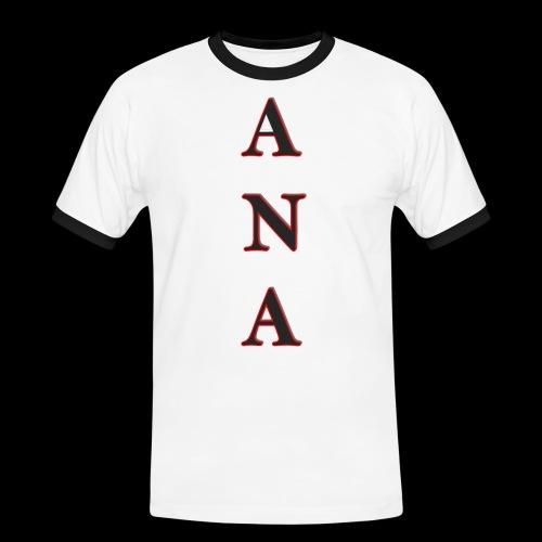ANA - Camiseta contraste hombre