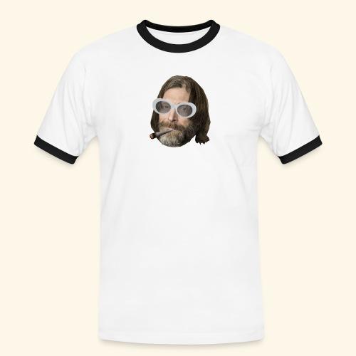 Ola Conny: Turnt Up Collection - Kontrast-T-shirt herr