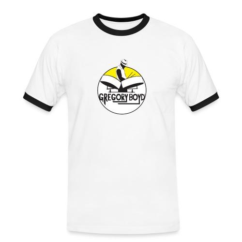 INTRODUKTION ELEKTRO STEELPANIST GREGORY BOYD - Herre kontrast-T-shirt
