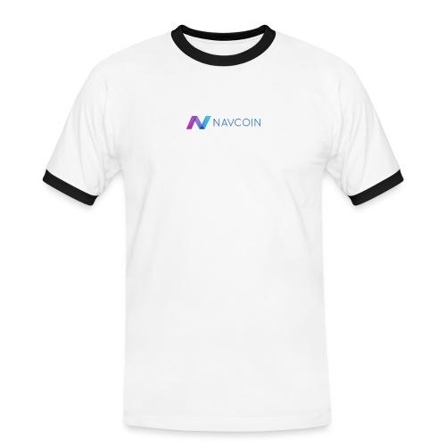 Navcoin (Nav) - Männer Kontrast-T-Shirt