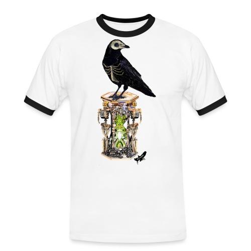 'Memento Mori' by BlackenedMoonArts - Herre kontrast-T-shirt