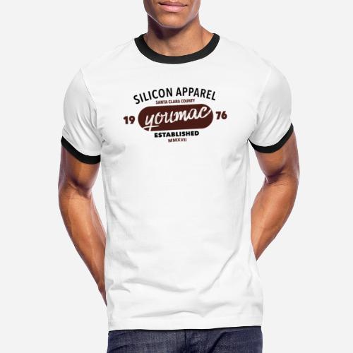 youmac est. MMXVII - Männer Kontrast-T-Shirt