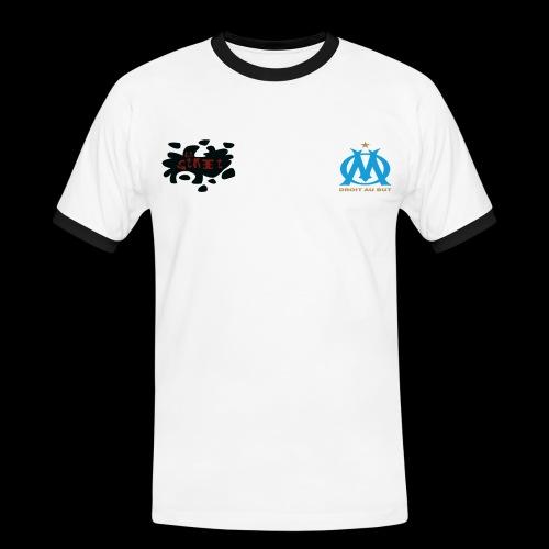 ommmmm - T-shirt contrasté Homme