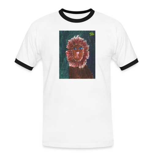 Lion T-Shirt By Isla - Men's Ringer Shirt
