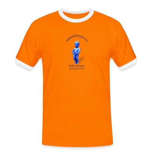 EUROPE ♀♂   mannekenpis マヌカンピス - T-shirt contrasté Homme
