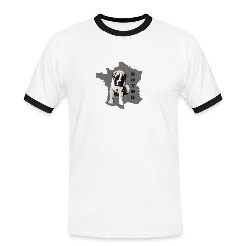 rb910 - T-shirt contrasté Homme