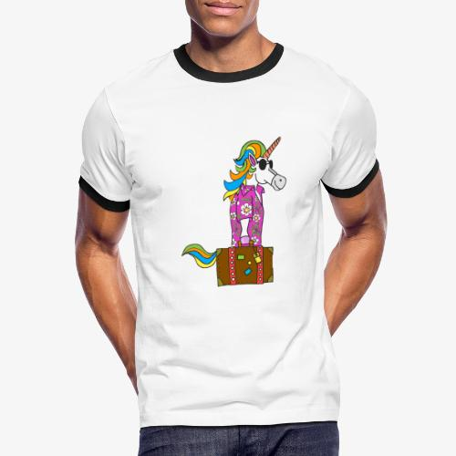 Unicorn trip - T-shirt contrasté Homme
