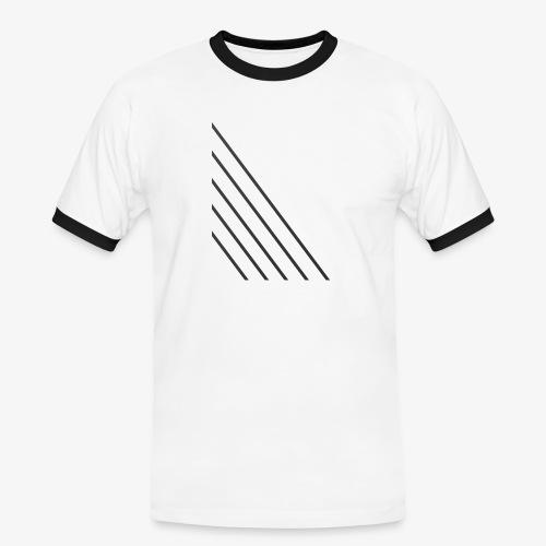 STRIPED - Herre kontrast-T-shirt