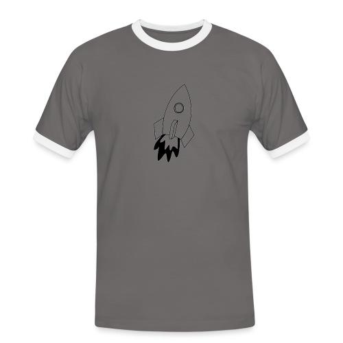 Space - Maglietta Contrast da uomo