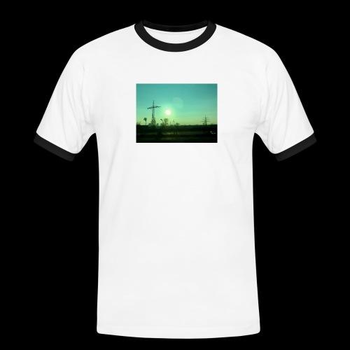 pollution - Mannen contrastshirt