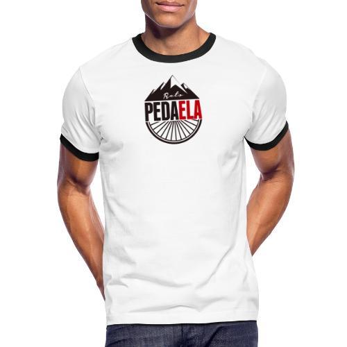 PEDAELA - Camiseta contraste hombre