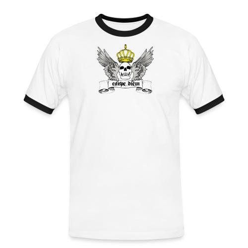 CARPE DIEM - Herre kontrast-T-shirt