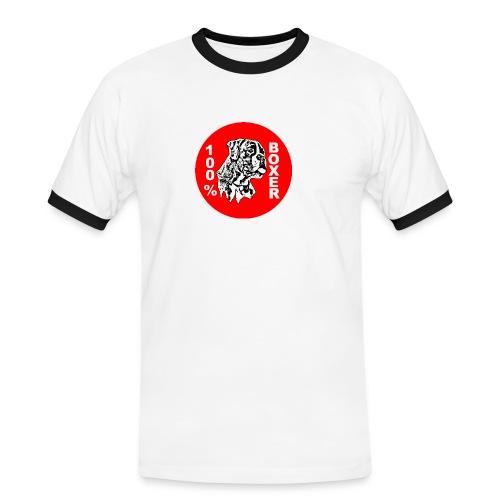 rb14li9 - T-shirt contrasté Homme