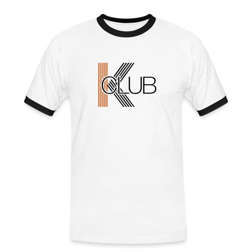KCLUB1 - Männer Kontrast-T-Shirt