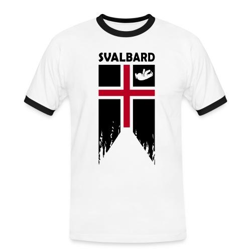 Svalbard the completely fictitious flag - Men's Ringer Shirt