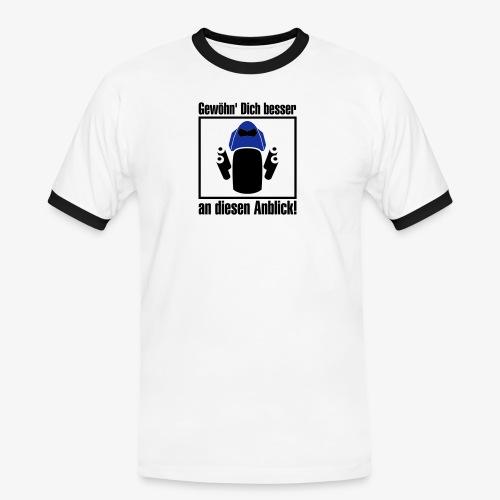 z1000 Anblick - Männer Kontrast-T-Shirt