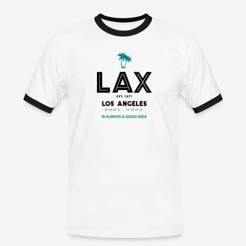 LAX è una buona idea!! - Maglietta Contrast da uomo