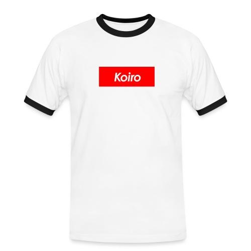 Koiro - Punainen - Miesten kontrastipaita