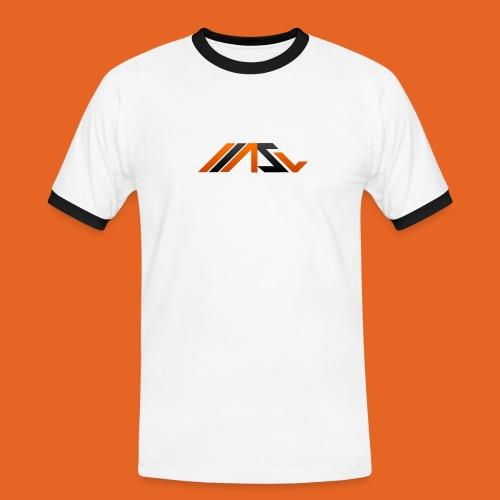 ASV New Look - Männer Kontrast-T-Shirt