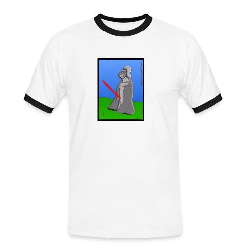 Darth Vader Comic - Männer Kontrast-T-Shirt