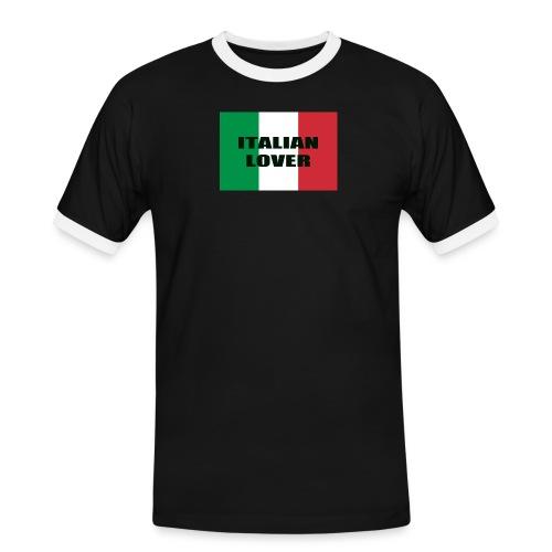 ITALIAN LOVER - Maglietta Contrast da uomo