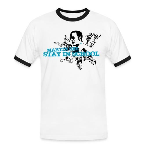 martin stayinschool - Kontrast-T-shirt herr