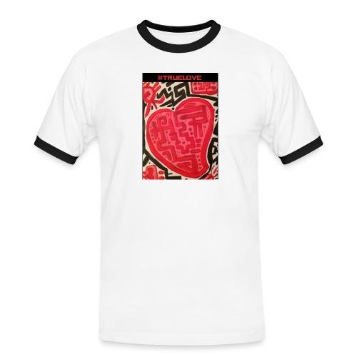 #truelove - Men's Ringer Shirt