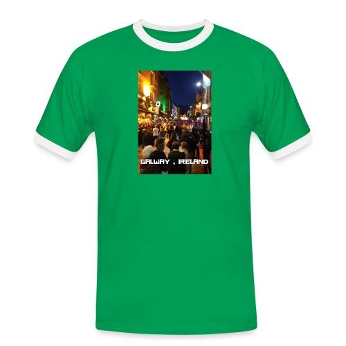 GALWAY IRELAND SHOP STREET - Men's Ringer Shirt