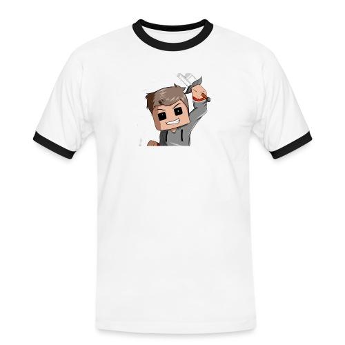 AwaZeK design - T-shirt contrasté Homme