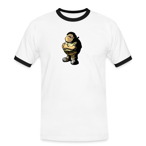 wiz mascott - Männer Kontrast-T-Shirt