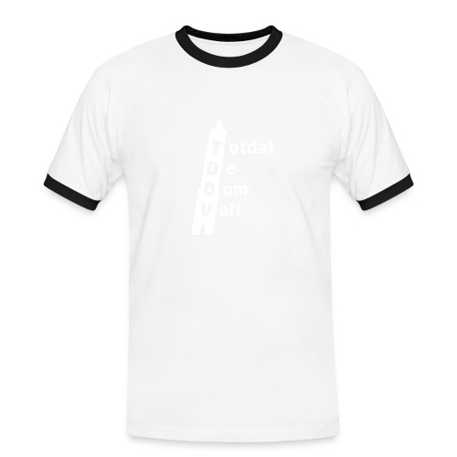 TDDV Logo - Mannen contrastshirt