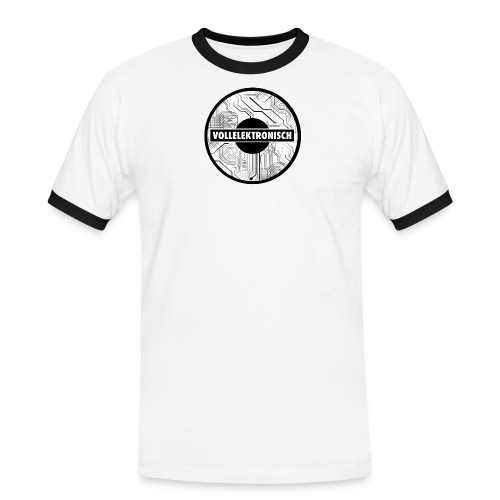 Fully Electronic - Männer Kontrast-T-Shirt