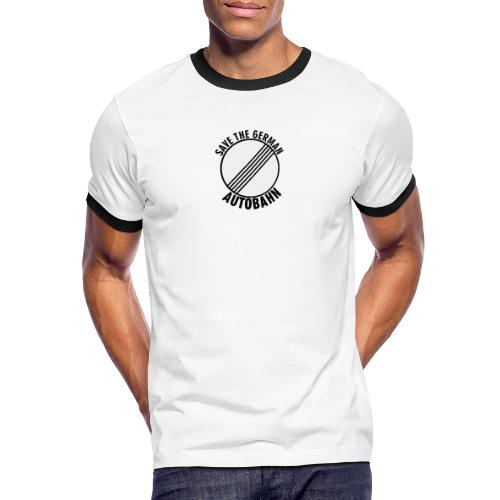Save The German Autobahn - Männer Kontrast-T-Shirt