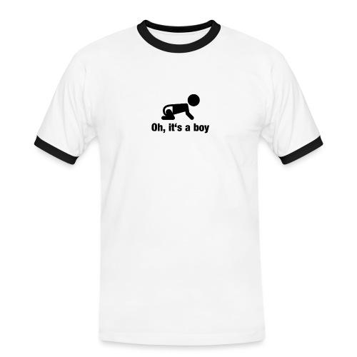 Baby Boy - Männer Kontrast-T-Shirt