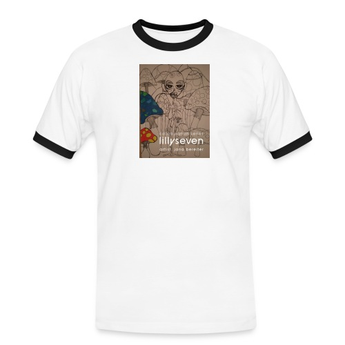 pb090069 - Männer Kontrast-T-Shirt