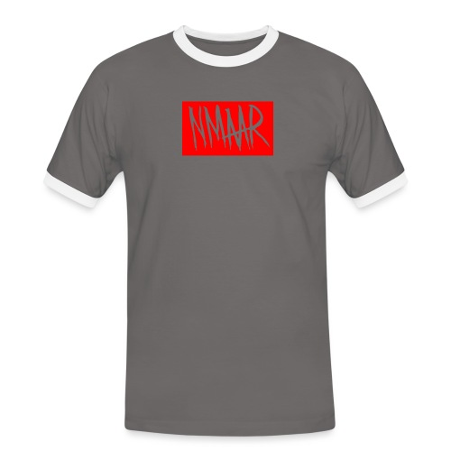 Logo - Herre kontrast-T-shirt