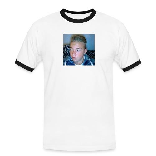 Fan Tröja - Kontrast-T-shirt herr