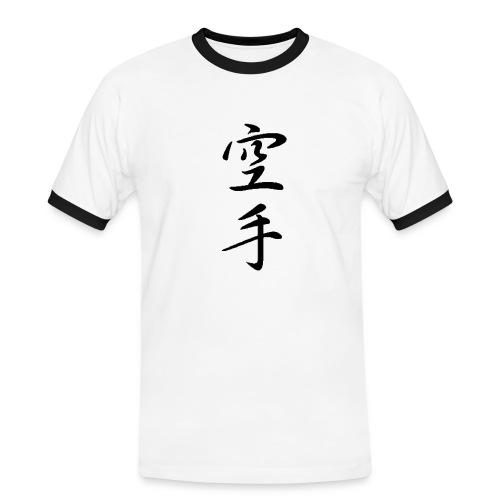 karate kanji - Men's Ringer Shirt