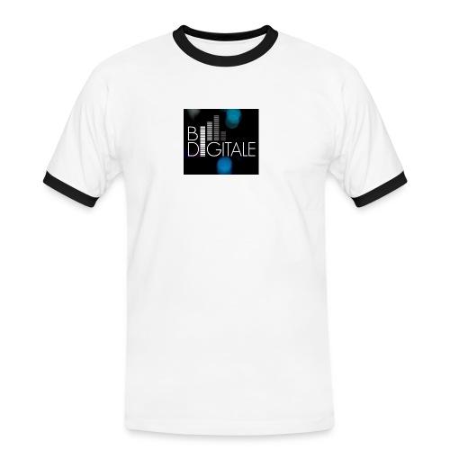 bidigitalelogo - Männer Kontrast-T-Shirt