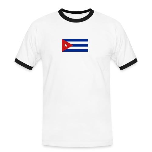 Si vamos bien - Männer Kontrast-T-Shirt