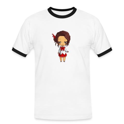 Chibi Amelia by Calyss - T-shirt contrasté Homme